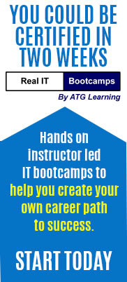 You could be certified in 3 weeks! Real MCSE Bootcamps offers hands on, instructor led bootcamps for MCSE 2003, MCSA, Exchange, CCNA, CCDA, & Security
